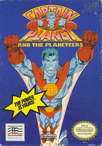 Captain Planet and the Planeteers - Nintendo NES [USED]