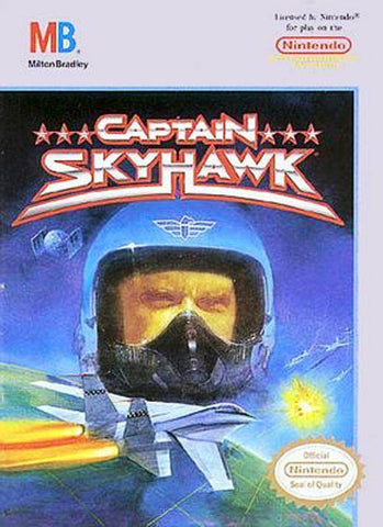 Captain Skyhawk - Nintendo NES [USED]