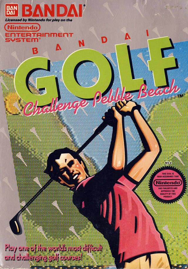 Bandai Golf: Challenge Pebble Beach - Nintendo NES [USED]