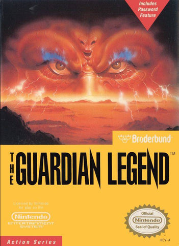 The Guardian Legend - Nintendo NES [USED]