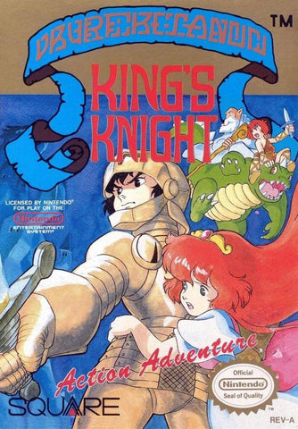 King's Knight - Nintendo NES [USED]