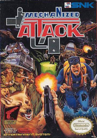 Mechanized Attack - Nintendo NES [USED]