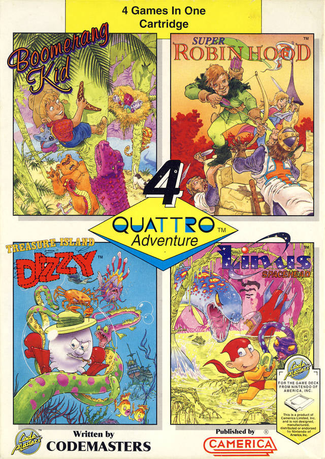 Quattro Adventure - Nintendo NES [USED]