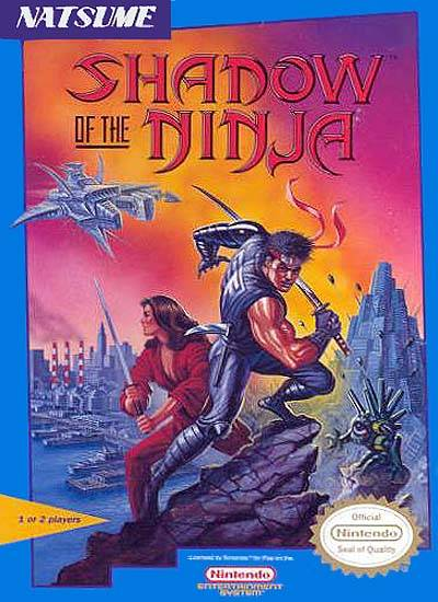 Shadow of the Ninja - Nintendo NES [USED]
