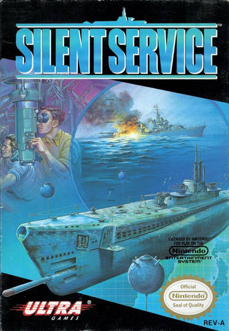 Silent Service - Nintendo NES [USED]