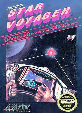 Star Voyager - Nintendo NES [USED]