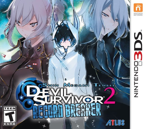 Shin Megami Tensei: Devil Survivor 2 Record Breaker - Nintendo 3DS [USED]