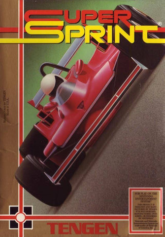 Super Sprint - Nintendo NES [USED]