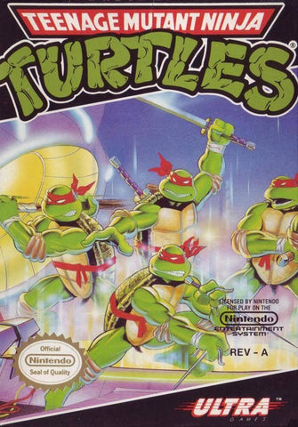 Teenage Mutant Ninja Turtles - Nintendo NES [USED]