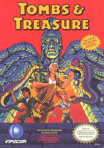 Tombs & Treasure - Nintendo NES [USED]