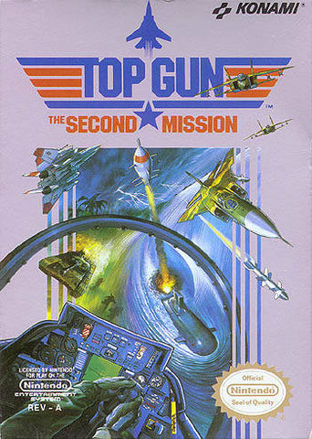 Top Gun: The Second Mission - Nintendo NES [USED]