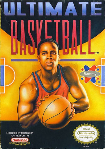 Ultimate Basketball - Nintendo NES [USED]