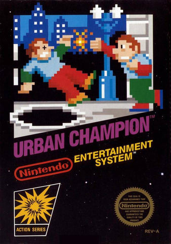 Urban Champion - Nintendo NES [USED]