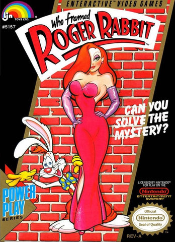 Who Framed Roger Rabbit - Nintendo NES [USED]