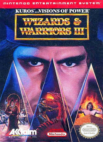 Wizards & Warriors III: Kuros: Visions of Power - Nintendo NES [USED]