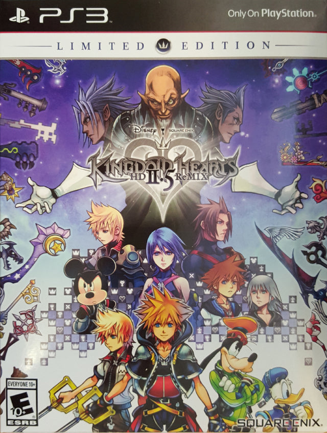 Kingdom Hearts HD 2.5 ReMIX (Limited Edition) - PlayStation 3
