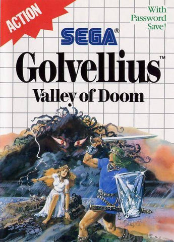 Golvellius: Valley of Doom - SEGA Master System [USED]