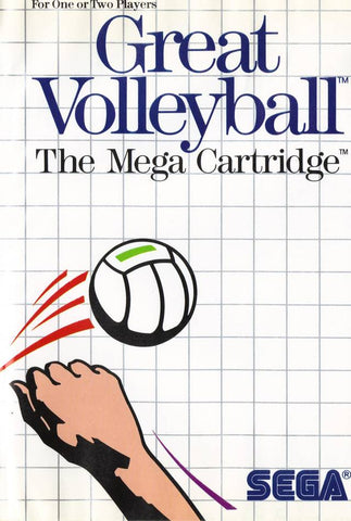 Great Volleyball - SEGA Master System [USED]