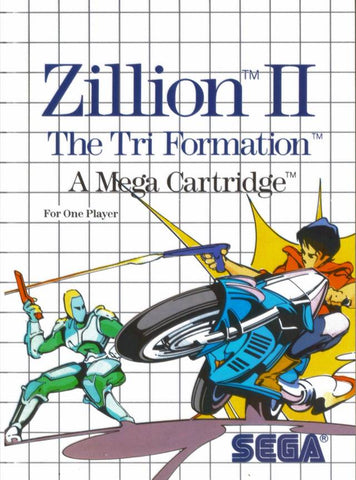 Zillion II: The Tri Formation - SEGA Master System [USED]
