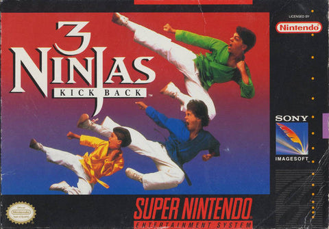 3 Ninjas Kick Back - Super Nintendo [USED]