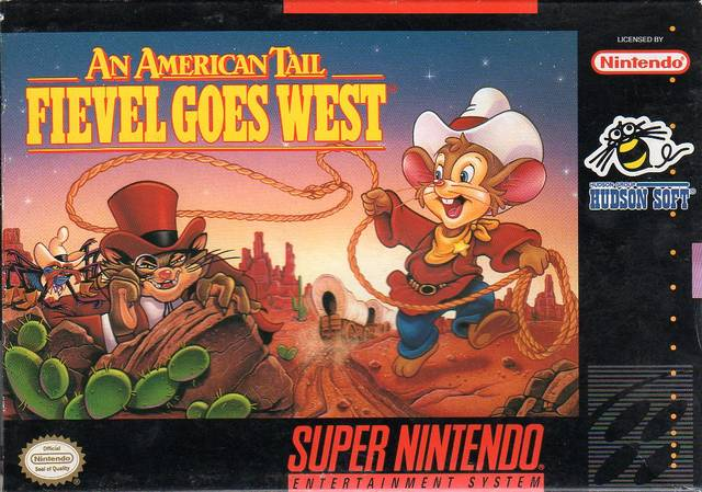 An American Tail: Fievel Goes West - Super Nintendo [USED]