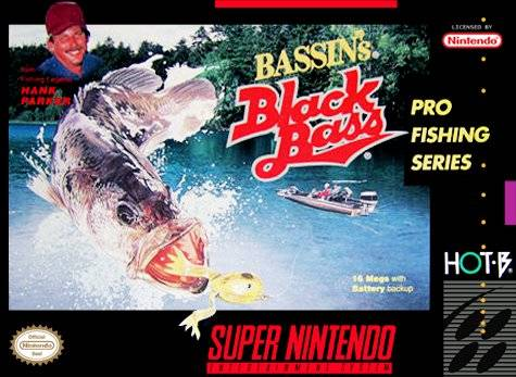 Bassin's Black Bass with Hank Parker - Super Nintendo [USED]