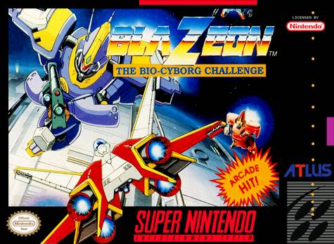 BlaZeon: The Bio-Cyborg Challenge - Super Nintendo [USED]