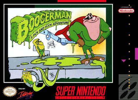 Boogerman: A Pick and Flick Adventure - Super Nintendo [USED]