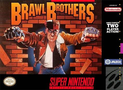 Brawl Brothers - Super Nintendo [USED]