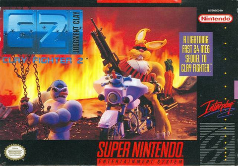 C2 - Clay Fighter 2: Judgment Clay - Super Nintendo [NEW]