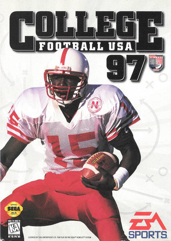 College Football USA 97 - SEGA Genesis [USED]