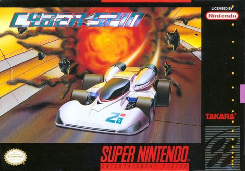Cyber Spin - Super Nintendo [USED]