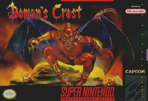 Demon's Crest - Super Nintendo [USED]