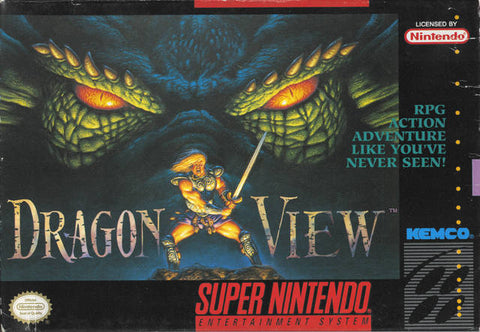 Dragon View - Super Nintendo [USED]