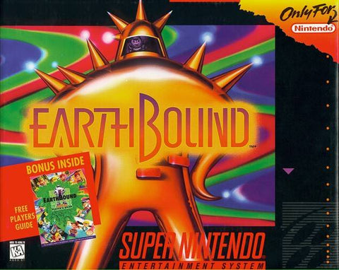 EarthBound - Super Nintendo [USED]