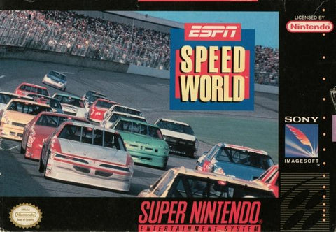ESPN SpeedWorld - Super Nintendo [USED]