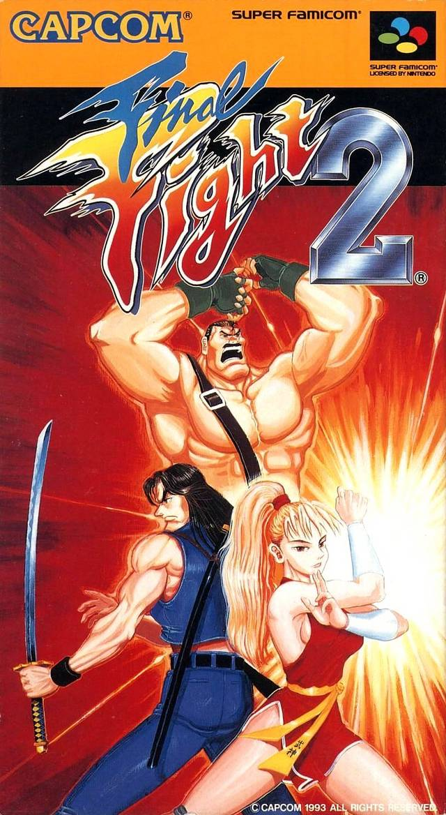 Final Fight 2 - Super Famicom (Japan) [USED]