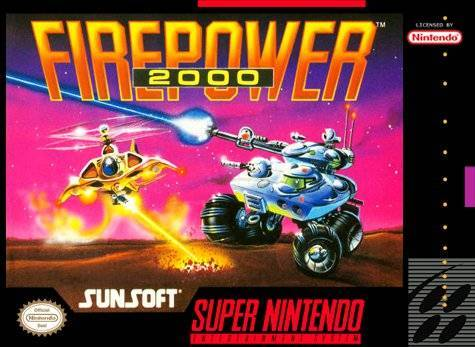 Firepower 2000 - Super Nintendo [USED]