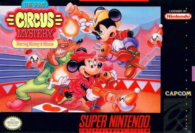 The Great Circus Mystery Starring Mickey & Minnie - Super Nintendo [USED]