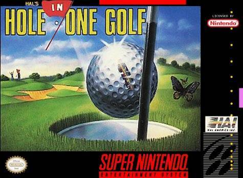 HAL's Hole in One Golf - Super Nintendo [NEW]