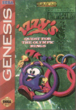Izzy's Quest for the Olympic Rings - SEGA Genesis [USED]