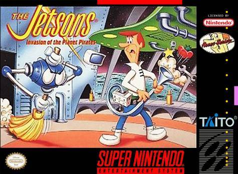 The Jetsons: Invasion of the Planet Pirates - Super Nintendo [USED]