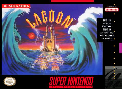 Lagoon - Super Nintendo [USED]