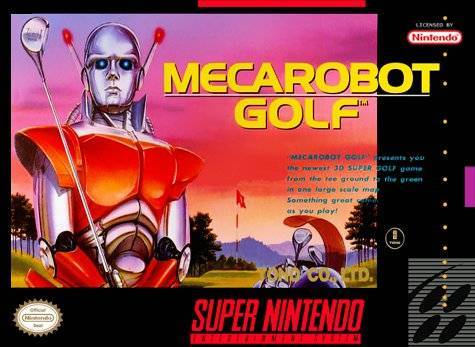 Mecarobot Golf - Super Nintendo [USED]