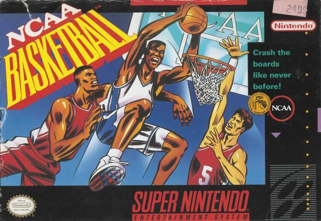 NCAA Basketball - Super Nintendo [USED]