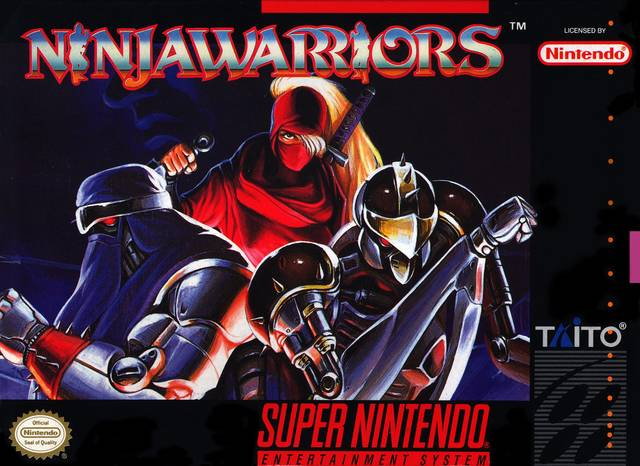 Ninja Warriors - Super Nintendo [USED]