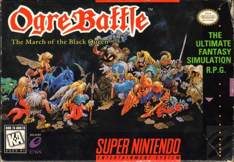 Ogre Battle: The March of the Black Queen - Super Nintendo [USED]