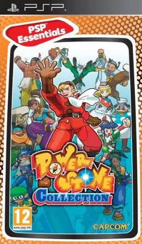 Power Stone Collection - PSP  (UK)