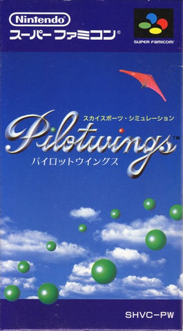 Pilotwings - Super Famicom (Japan) [USED]
