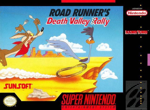 Road Runner's Death Valley Rally - Super Nintendo [USED]